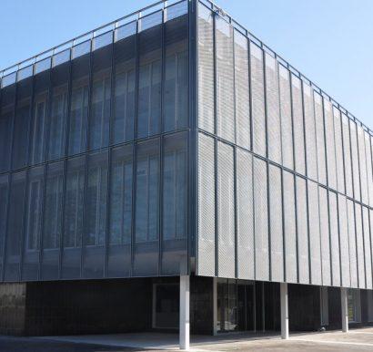 Clinica Universitaria Manresa-Imar-Expanded & perforated- Galvanised-Facade-Architect-004 - Copy