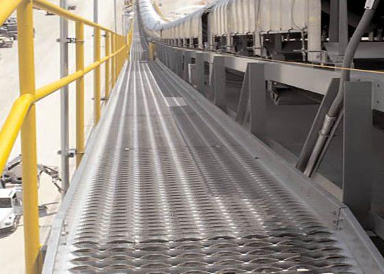 ورق فلزی اکسپندد برای ریل های صنعتی