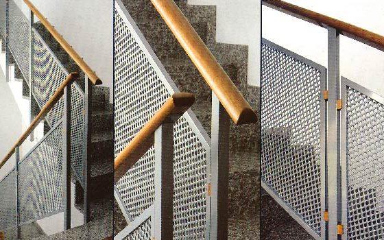 کاربرد ورق فلزی اکسپندد برای حفاظ پله