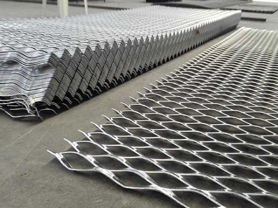 مزایای استفاده از توری کششی فلزی لوزی