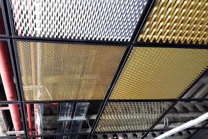 ساخت سقف کاذب فلزی با اکسپندد متال