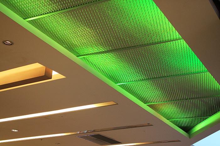 اکسپندد متال در ساخت سقف کاذب فلزی