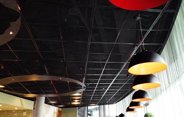 اکسپندد متال در سقف کاذب