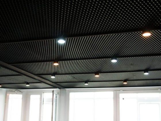 سقف کاذب با اکسپندد متال